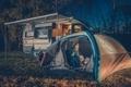 Family Camping Fun - PhotoDune Item for Sale