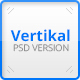 Vertikal - Vertical Navigation PSD Template