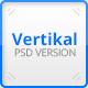 Vertikal - Vertical Navigation PSD Template