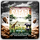Safari on the Day Flyer Template - GraphicRiver Item for Sale
