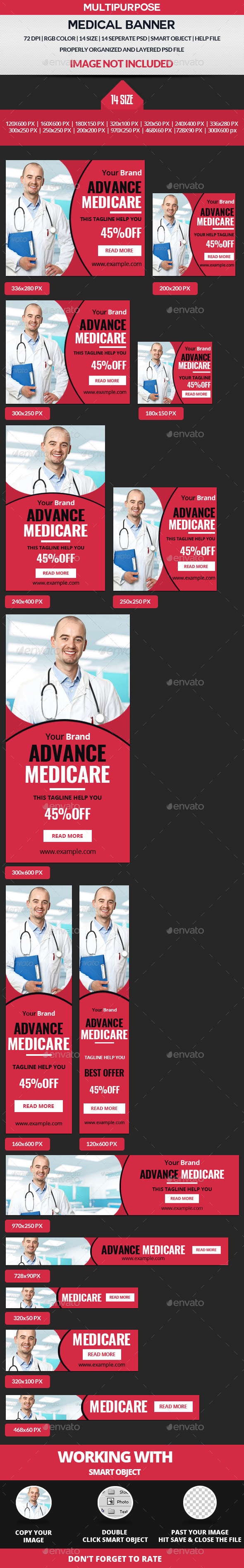 Medical Banner - Banners & Ads Web Elements