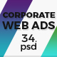 Corporate & Business Ad Banners - GraphicRiver Item for Sale