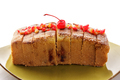 fresh homemade soft sponge cake with minced cherry topping - PhotoDune Item for Sale
