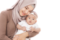lovely baby girl with her mother - PhotoDune Item for Sale