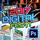 Digital Fest Flyer - GraphicRiver Item for Sale