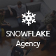 Snowflake - Onepage Agency PSD Template - ThemeForest Item for Sale