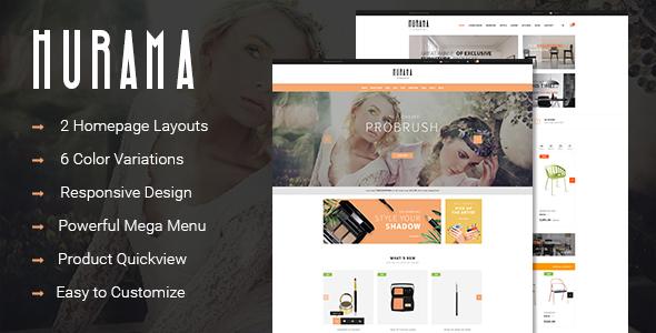 Hurama - Responsive Multipurpose OpenCart Theme - OpenCart eCommerce