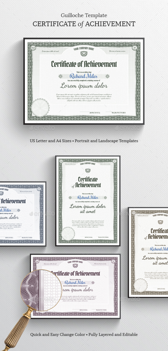 Certificate of Achievement by ZEuS1898 | GraphicRiver