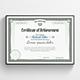 Certificate of Achievement - GraphicRiver Item for Sale