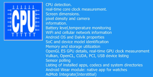 DeviceInfo - CodeCanyon Item for Sale