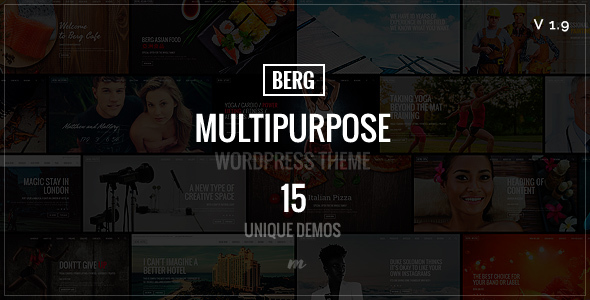 Berg - Multipurpose Responsive Theme