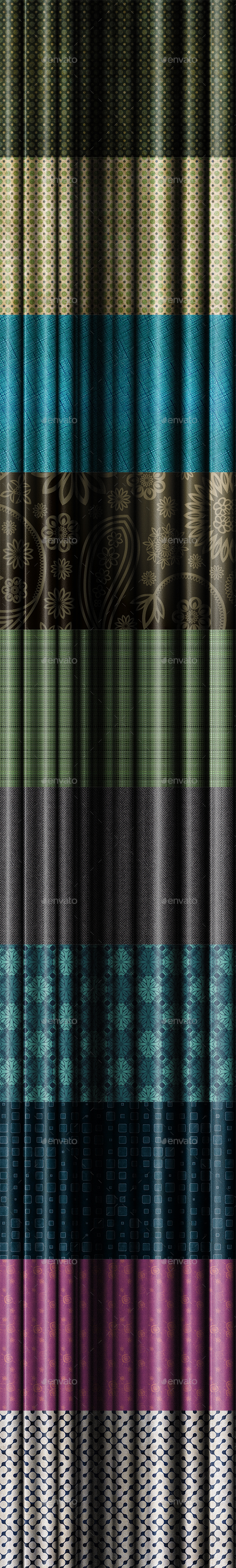 10 Fabric Backgrounds - Abstract Backgrounds