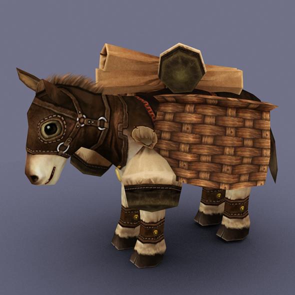 mule - 3DOcean Item for Sale