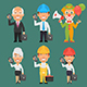 Characters Different Professions Part 14 - GraphicRiver Item for Sale