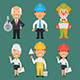 Characters Different Professions Part 15 - GraphicRiver Item for Sale