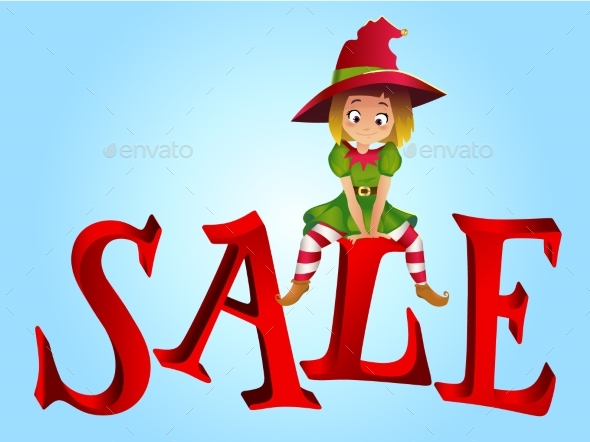 Christmas Sale Design Template - Christmas Seasons/Holidays