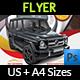 Rent a Car Flyer Template Vol.2 - GraphicRiver Item for Sale