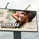 Inverto Party Outdoor Banner Template