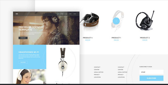 BOX – Brand-building eCommerce WordPress Theme
