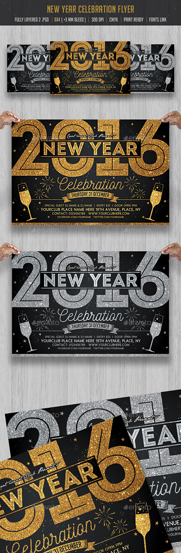 New Year Celebration - Clubs & Parties Events