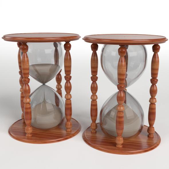 Hourglasses Set - 3DOcean Item for Sale