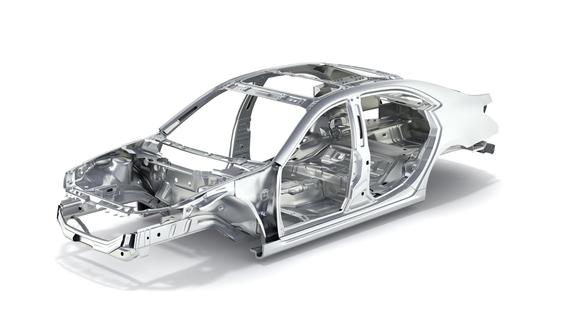 Detailed Car Body By Kvsan 3docean
