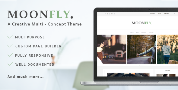 Moonfly – Multipurpose WordPress Theme