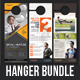 3 Corporate Business Door Hanger Bundle 06 - GraphicRiver Item for Sale