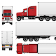 Semi Trailer Truck - GraphicRiver Item for Sale
