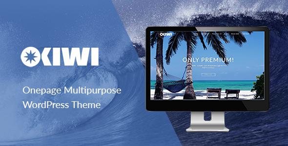 OKIWI – Onepage Multipurpose WordPress Theme - Creative WordPress