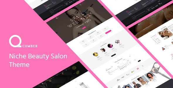 qCumber - Niche Beauty Salon Theme