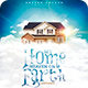 My Home, Heaven on Earth   Poster - GraphicRiver Item for Sale