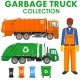 Garbage Truck Collection - GraphicRiver Item for Sale