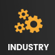 Digital Industry - Industrial Business PSD Template - ThemeForest Item for Sale