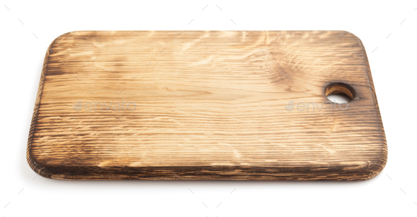 cutting board on white - Stock Photo - Images