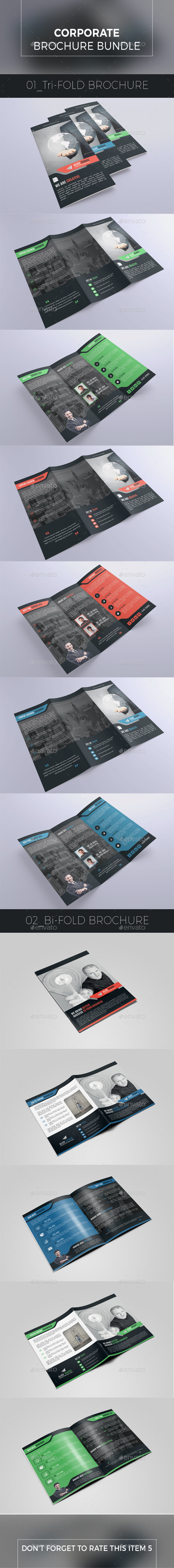 Corporate Brochure Bundle 2 in 1 - Corporate Brochures