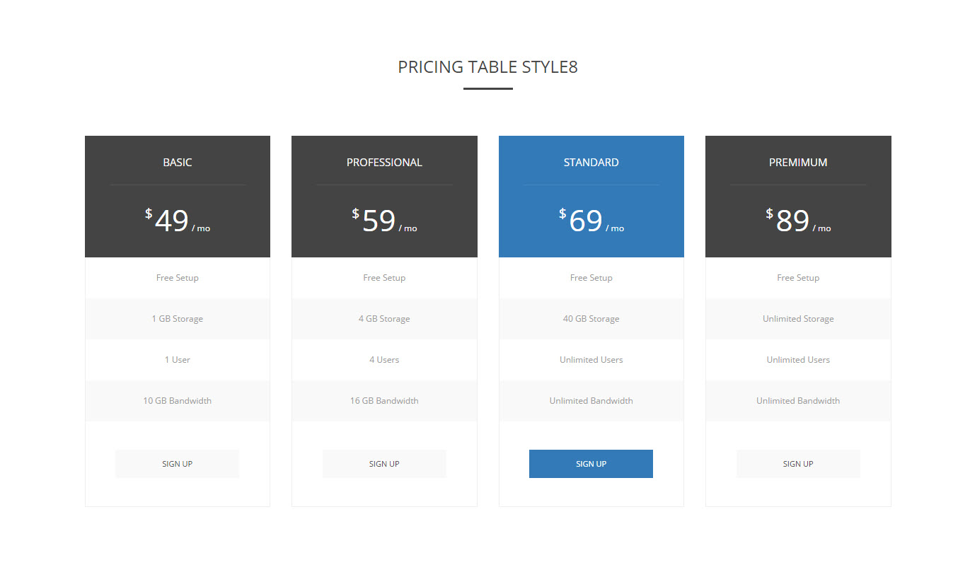 Bootplan a responsive bootstrap pricing tables v1 3 by for Bootstrap table responsive