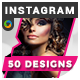 Fashion Instagram Templates - 50 Designs - GraphicRiver Item for Sale