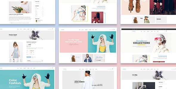 Vixka Responsive HTML Template - Retail Site Templates