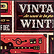 Vintage Winter - Flyer & Poster - GraphicRiver Item for Sale