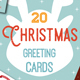 20 Christmas Greeting Cards - GraphicRiver Item for Sale