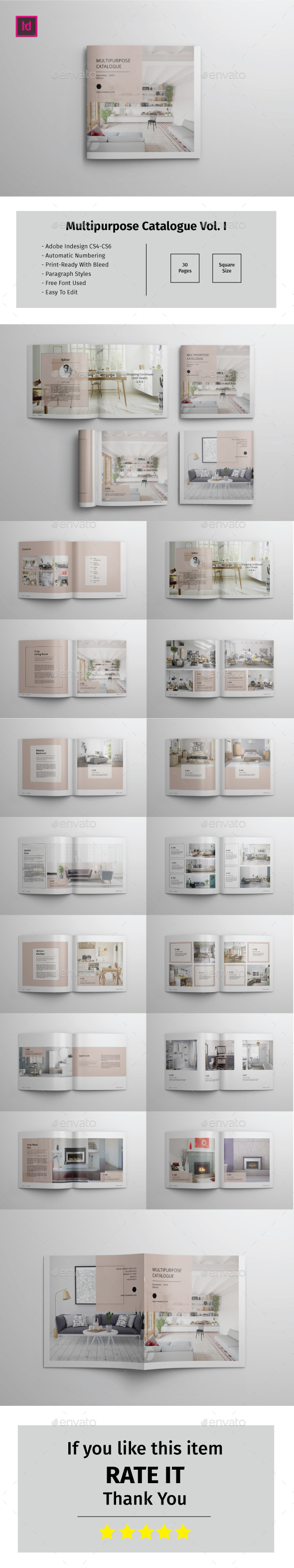 Multipurpose Square Catalogue Vol.I - Catalogs Brochures
