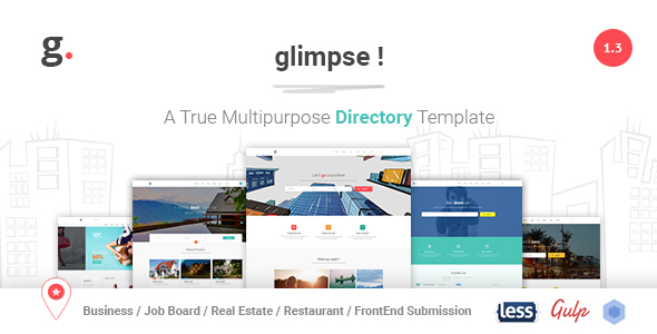 Glimpse Multipurpose Directory Template