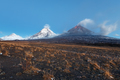 Eruption Klyuchevskoy Volcano in Kamchatka Peninsula - PhotoDune Item for Sale
