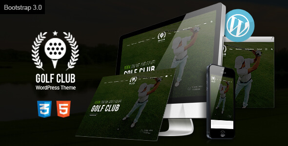 Image of Golf Club - Golf Course WordPress Theme