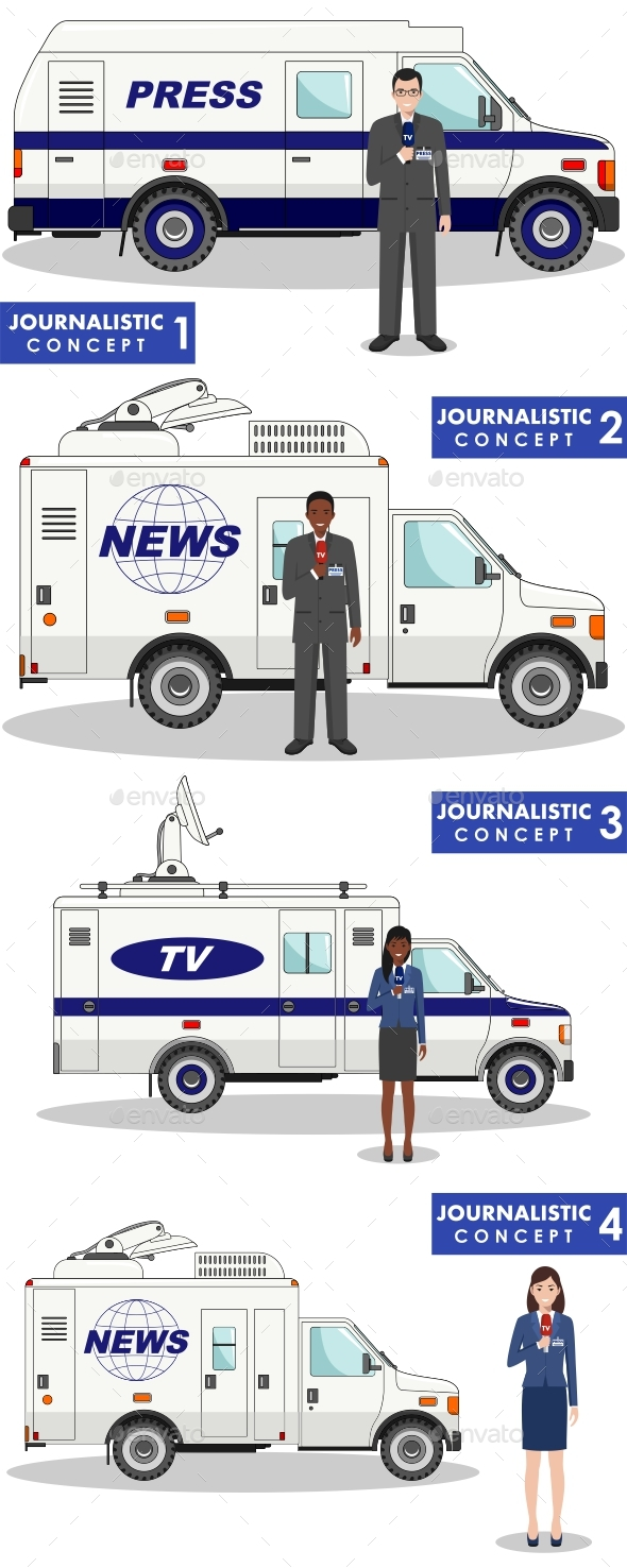 Journalistic Concept. - Media Technology