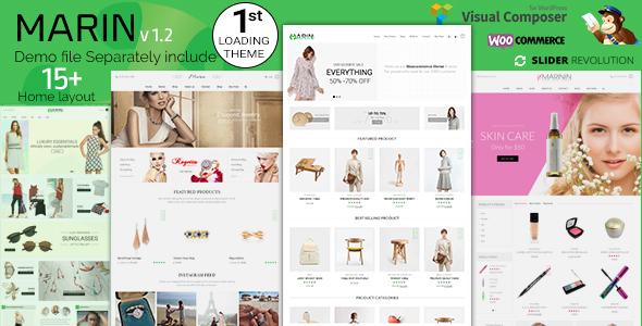 Marin Woo - WooCommerce Responsive Theme