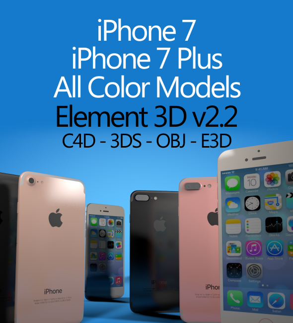 iPhone 7 - 3DOcean Item for Sale