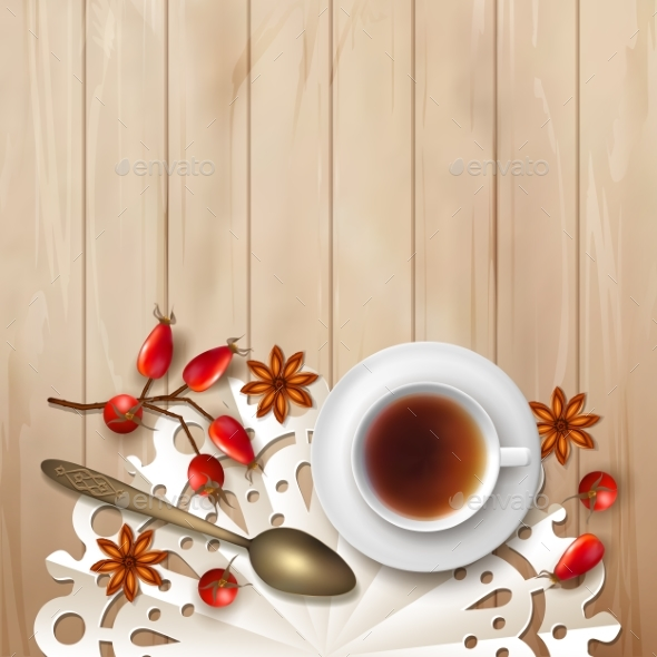 Tea Time Background by kostins