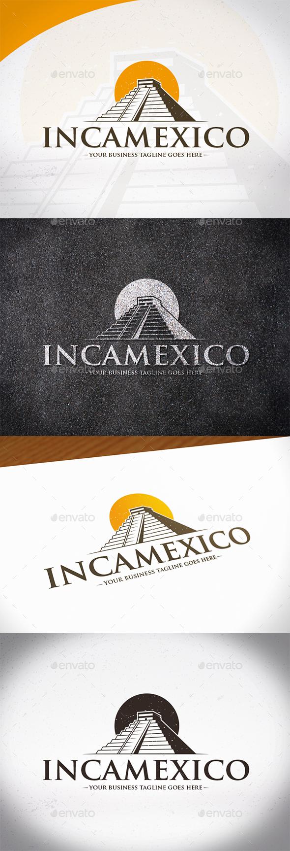 Inca Mexico Logo Template - Buildings Logo Templates